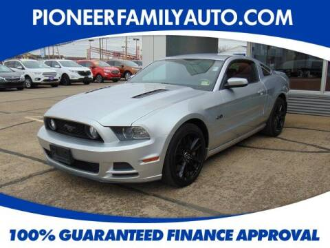 2014 Ford Mustang for sale at Pioneer Family auto in Marietta OH