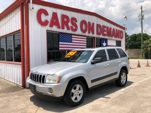 2006 Jeep Grand Cherokee for sale at Cars On Demand 2 in Pasadena TX