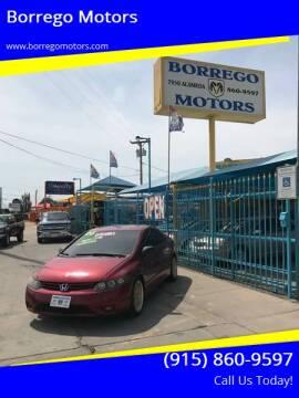 2006 Honda Civic for sale at Borrego Motors in El Paso TX
