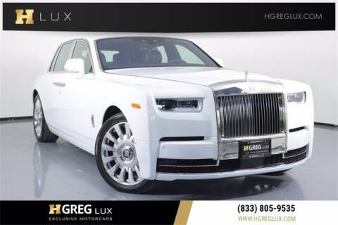 2018 Rolls-Royce Phantom for sale at HGREG LUX EXCLUSIVE MOTORCARS in Pompano Beach FL