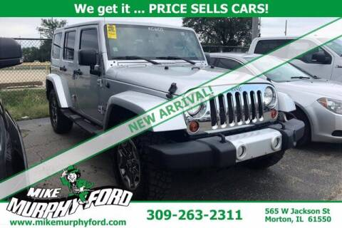 2011 Jeep Wrangler Unlimited for sale at Mike Murphy Ford in Morton IL