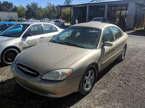 2001 Ford Taurus for sale at Ebert Auto Sales in Valdosta GA