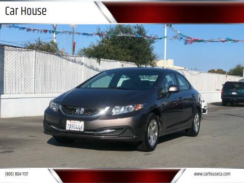 2013 Honda Civic for sale at Car House in San Mateo CA