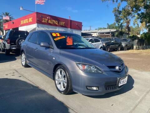 2007 Mazda MAZDA3 for sale at 3K Auto in Escondido CA