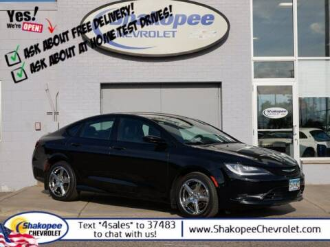 2016 Chrysler 200 for sale at SHAKOPEE CHEVROLET in Shakopee MN