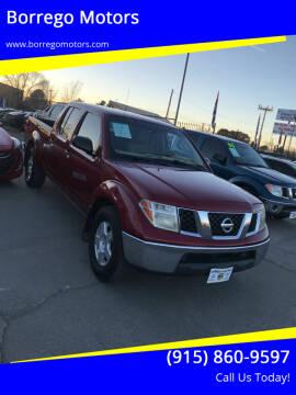 2007 Nissan Frontier for sale at Borrego Motors in El Paso TX
