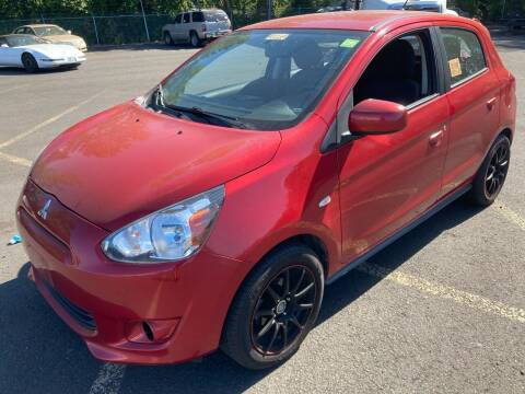 2015 Mitsubishi Mirage for sale at Blue Line Auto Group in Portland OR