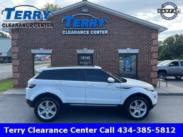 2015 Land Rover Range Rover Evoque for sale at Terry Clearance Center in Lynchburg VA