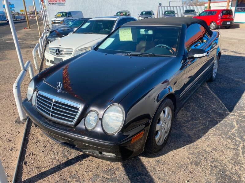 2002 Mercedes-Benz CLK for sale at Gabes Auto Sales in Odessa TX