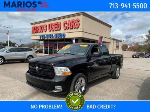 2012 RAM Ram Pickup 1500 for sale at Mario's Used Cars in Houston TX