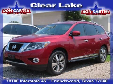 2013 Nissan Pathfinder for sale at Ron Carter  Clear Lake Used Cars in Houston TX