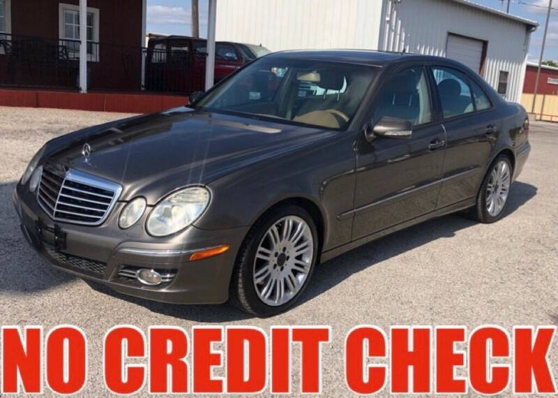2008 Mercedes-Benz E-Class for sale at Decatur 107 S Hwy 287 in Decatur TX