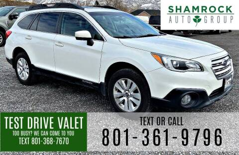 2017 Subaru Outback for sale at Shamrock Group LLC #1 in Pleasant Grove UT