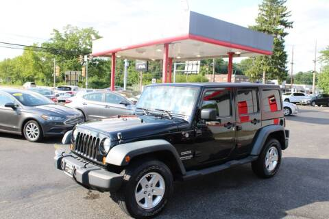 2011 Jeep Wrangler Unlimited for sale at Deals N Wheels 306 in Burlington NJ