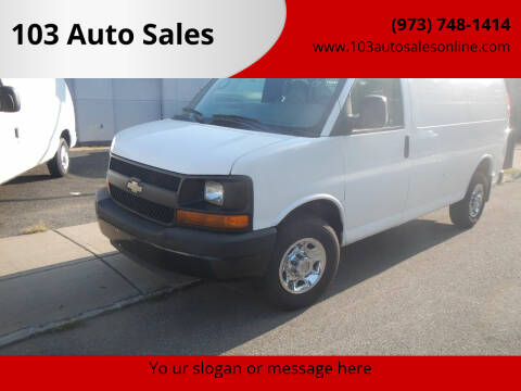 2009 Chevrolet Express Cargo for sale at 103 Auto Sales in Bloomfield NJ