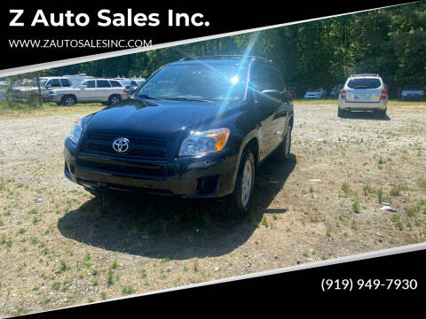 2011 Toyota RAV4 for sale at Z Auto Sales Inc. in Rocky Mount NC