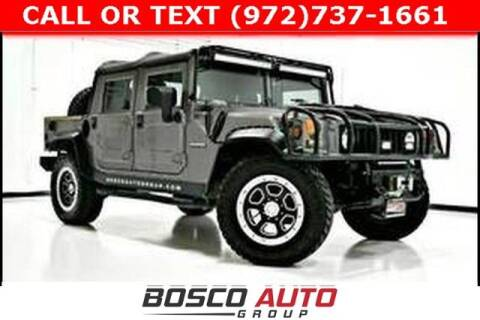 2000 AM General Hummer for sale at Bosco Auto Group in Flower Mound TX
