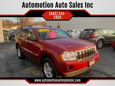 2005 Jeep Grand Cherokee for sale at Automotion Auto Sales Inc in Kingston NY