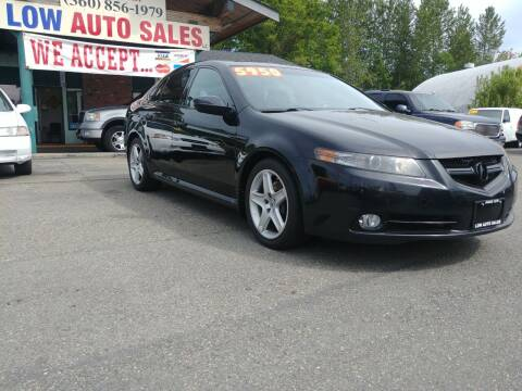2007 Acura TL for sale at Low Auto Sales in Sedro Woolley WA