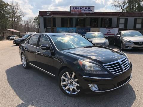 2013 Hyundai Equus for sale at Unicar Enterprise in Lexington SC