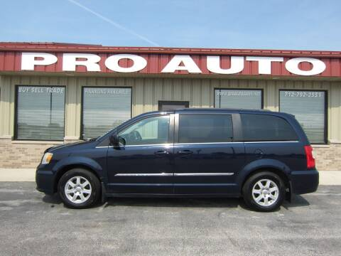 2013 Chrysler Town and Country for sale at Pro Auto Sales in Carroll IA