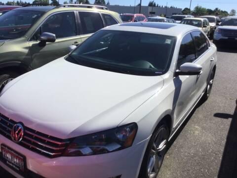 2013 Volkswagen Passat for sale at Royal Moore Custom Finance in Hillsboro OR