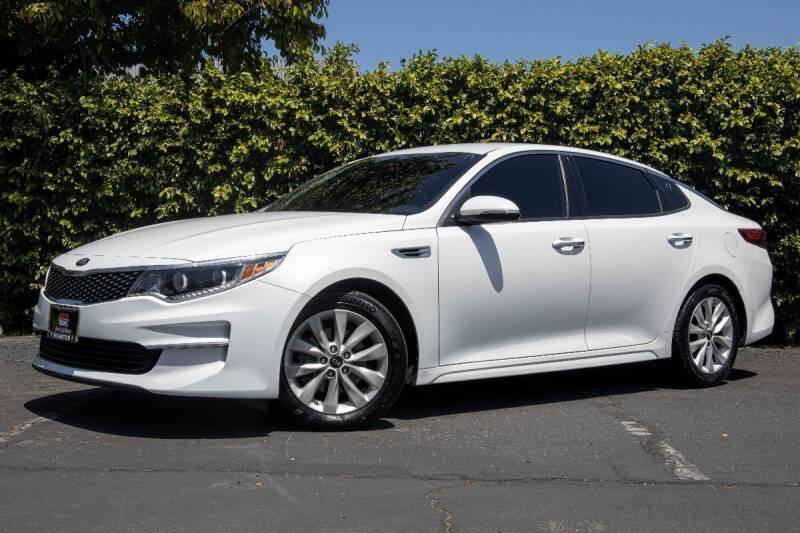 2016 Kia Optima for sale at 605 Auto  Inc. in Bellflower CA