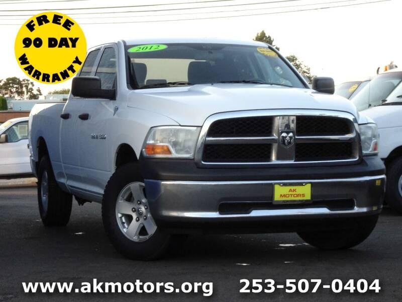 2012 RAM Ram Pickup 1500 for sale at AK Motors in Tacoma WA