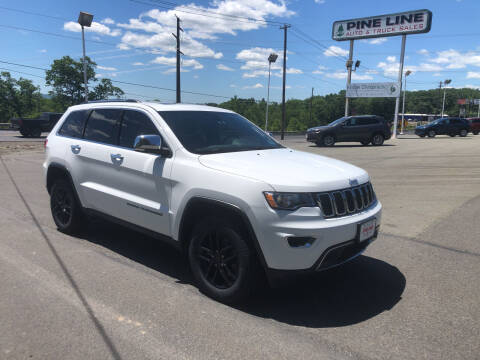 2018 Jeep Grand Cherokee for sale at Pine Line Auto in Eynon PA