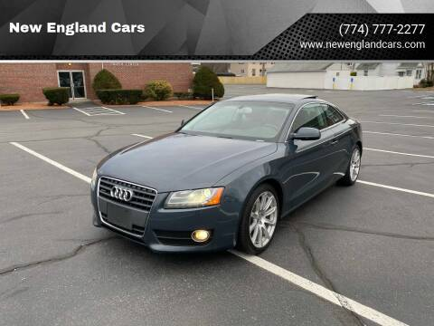 2011 Audi A5 for sale at New England Cars in Attleboro MA