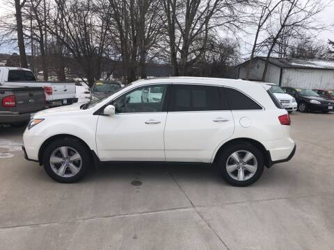 2010 Acura MDX for sale at 6th Street Auto Sales in Marshalltown IA