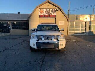 2004 Nissan Armada for sale at Utah Credit Approval Auto Sales in Murray UT