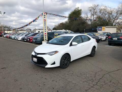 2017 Toyota Corolla for sale at TOP QUALITY AUTO in Rancho Cordova CA