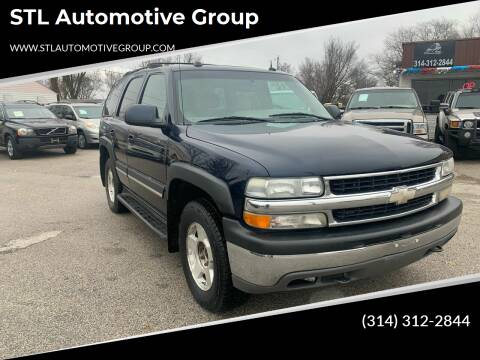 2004 Chevrolet Tahoe for sale at STL Automotive Group in O'Fallon MO