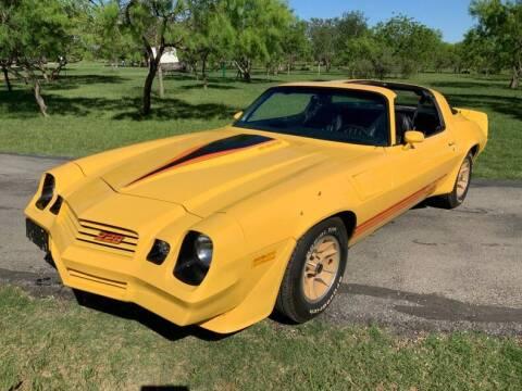 1981 Chevrolet Camaro for sale at STREET DREAMS TEXAS in Fredericksburg TX