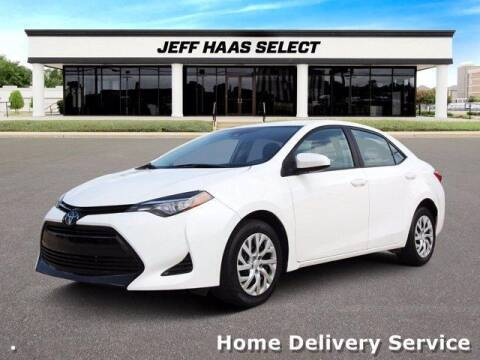 2018 Toyota Corolla for sale at JEFF HAAS MAZDA in Houston TX
