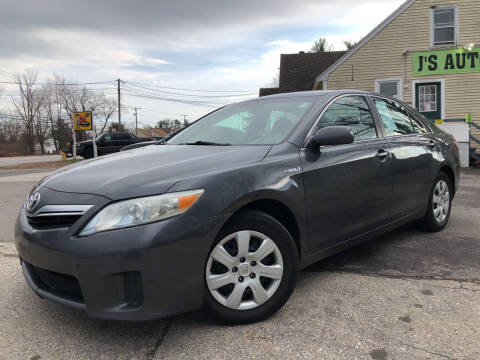 2011 Toyota Camry Hybrid for sale at J's Auto Exchange in Derry NH