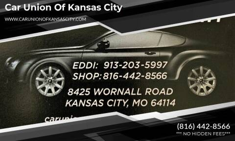 2012 Chevrolet Cruze for sale at Car Union Of Kansas City in Kansas City MO