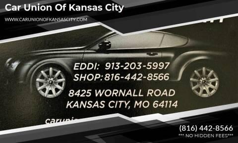 2012 Chevrolet Cruze for sale at Car Union Of Kansas City in Kansas City MO