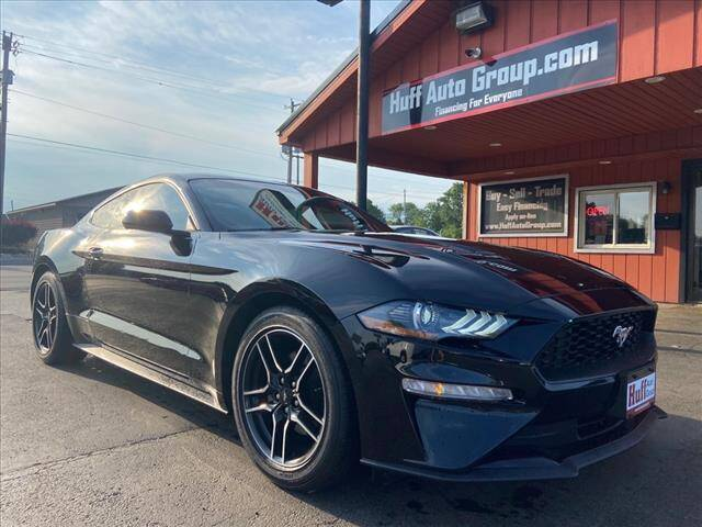 2019 Ford Mustang for sale at HUFF AUTO GROUP in Jackson MI