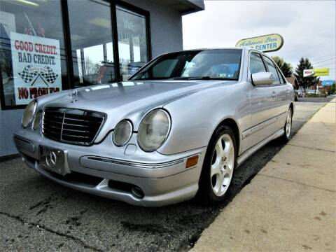 2000 Mercedes-Benz E-Class for sale at New Concept Auto Exchange in Glenolden PA