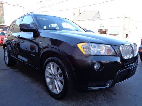 2013 BMW X3 for sale at Best Choice Auto Sales Inc in New Bedford MA