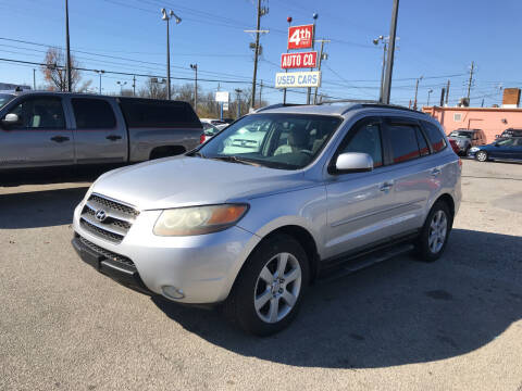2007 Hyundai Santa Fe for sale at 4th Street Auto in Louisville KY