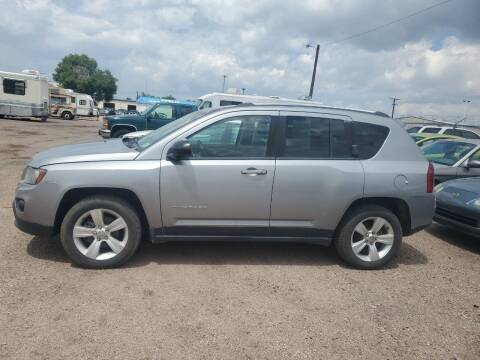 2014 Jeep Compass for sale at PYRAMID MOTORS - Fountain Lot in Fountain CO