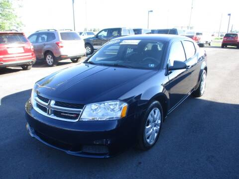 2013 Dodge Avenger for sale at FINAL DRIVE AUTO SALES INC in Shippensburg PA