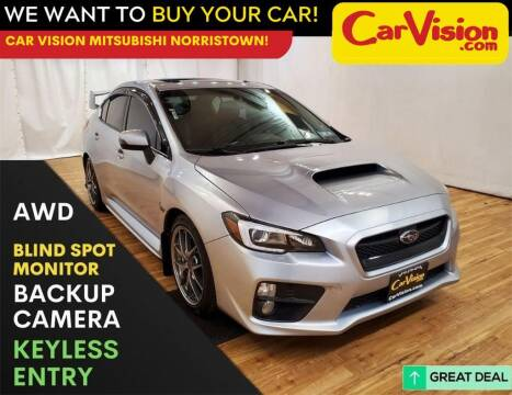 2017 Subaru WRX for sale at Car Vision Mitsubishi Norristown in Trooper PA