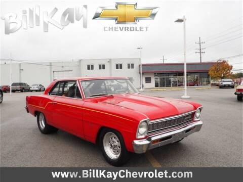 1966 Chevrolet Nova for sale at Bill Kay Corvette's and Classic's in Downers Grove IL