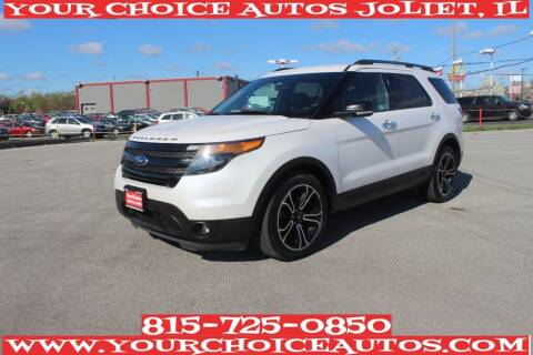 2014 Ford Explorer for sale at Your Choice Autos - Joliet in Joliet IL