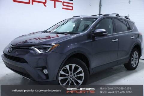2017 Toyota RAV4 for sale at Fishers Imports in Fishers IN