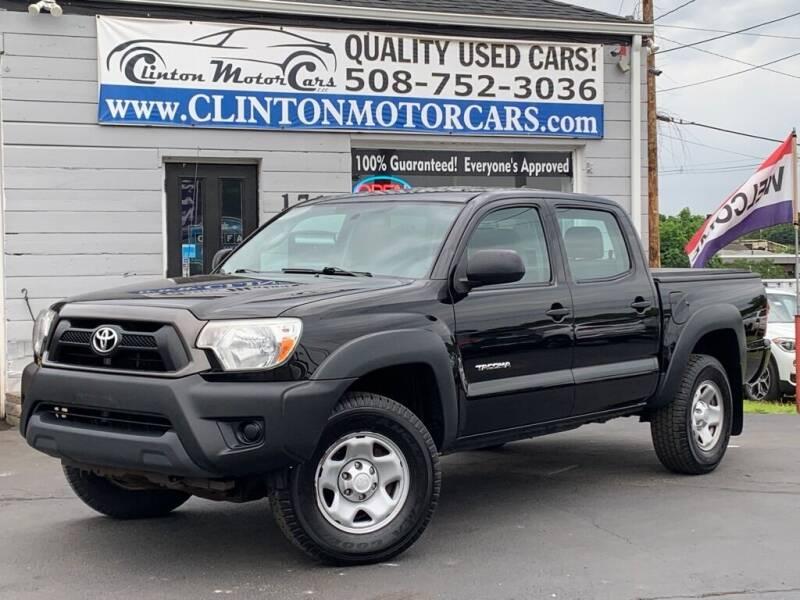 2012 Toyota Tacoma for sale at Clinton MotorCars in Shrewsbury MA